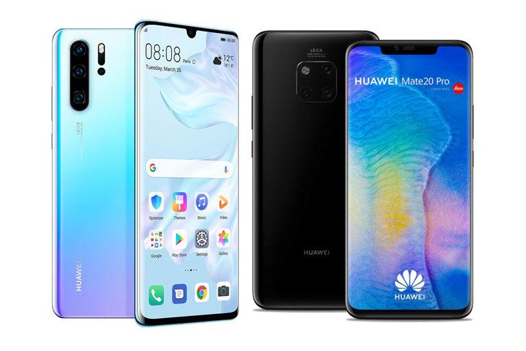 Huawei P20, P20 pro, P30, P30 pro